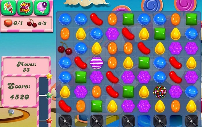 <center>Game Candy Crush Saga</center>